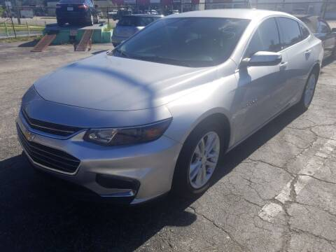 2018 Chevrolet Malibu for sale at Castle Used Cars in Jacksonville FL