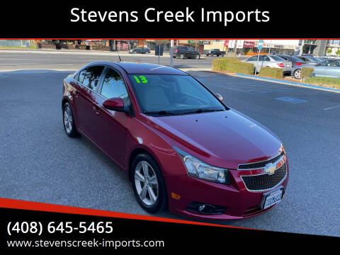 2013 Chevrolet Cruze for sale at Stevens Creek Imports in San Jose CA