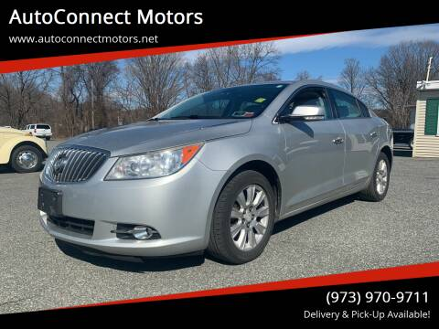 2013 Buick LaCrosse for sale at AutoConnect Motors in Kenvil NJ