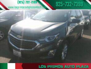 2018 Chevrolet Equinox for sale at Los Primos Auto Plaza in Antioch CA