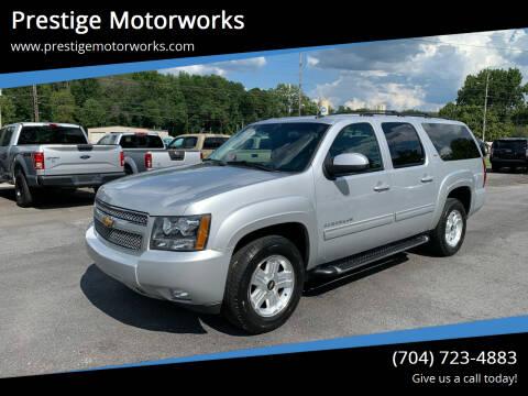 2014 Chevrolet Suburban for sale at Prestige Motorworks in Concord NC
