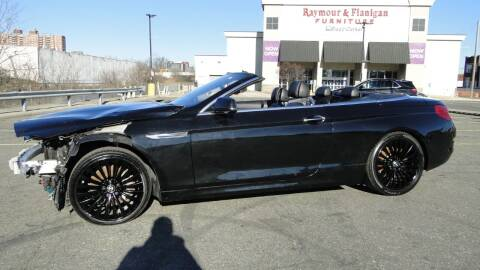 2012 BMW 6 Series for sale at AFFORDABLE MOTORS OF BROOKLYN - Inventory in Brooklyn NY