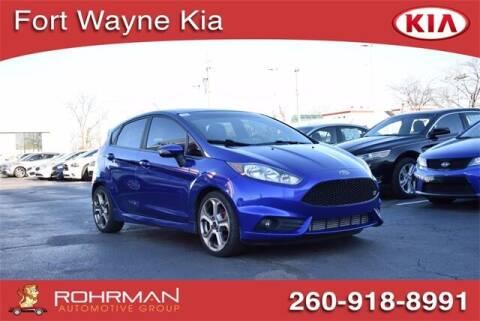 2015 Ford Fiesta for sale at BOB ROHRMAN FORT WAYNE TOYOTA in Fort Wayne IN
