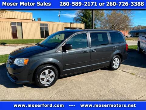 2012 Dodge Grand Caravan for sale at Moser Motors Of Portland in Portland IN
