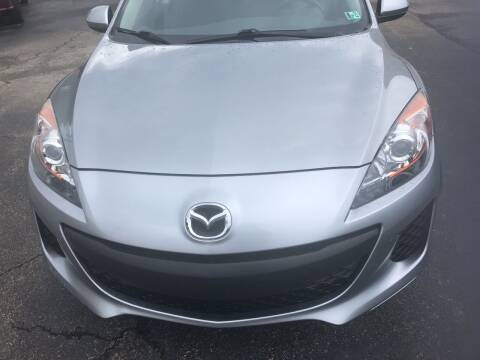 2012 Mazda MAZDA3 for sale at Berwyn S Detweiler Sales & Service in Uniontown PA