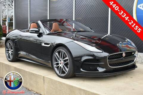 2019 Jaguar F-TYPE for sale at Alfa Romeo & Fiat of Strongsville in Strongsville OH