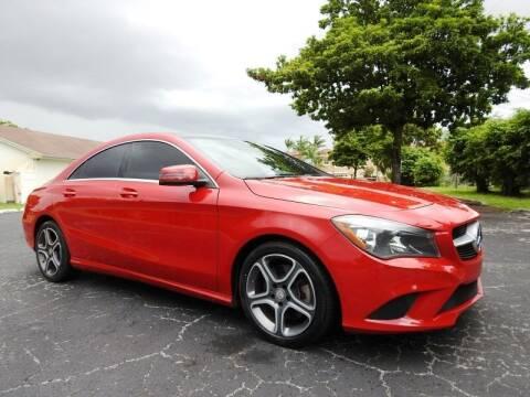 2014 Mercedes-Benz CLA for sale at SUPER DEAL MOTORS 441 in Hollywood FL