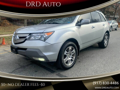 2008 Acura MDX for sale at DRD Auto Market in Flushing NY
