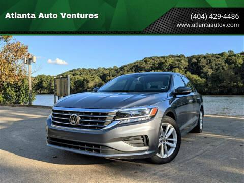 2020 Volkswagen Passat for sale at Atlanta Auto Ventures in Roswell GA