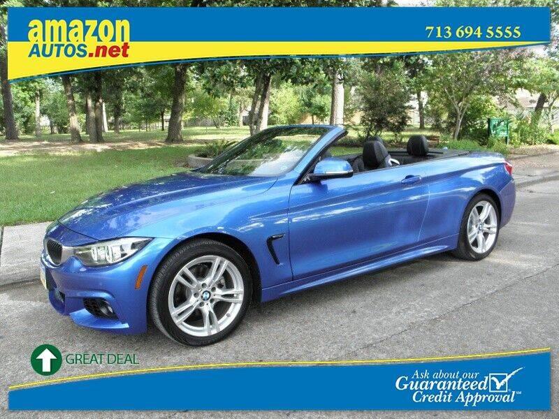 2018 BMW 4 Series for sale at Amazon Autos in Houston TX