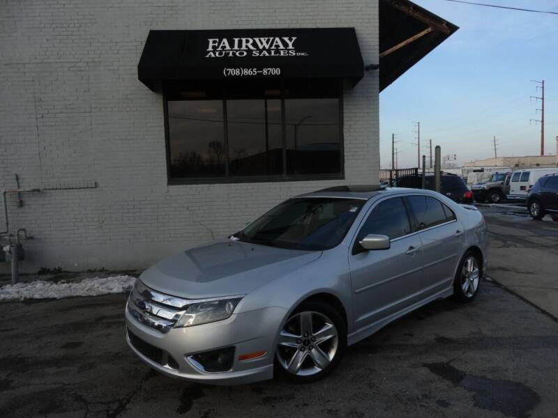 2010 Ford Fusion for sale at FAIRWAY AUTO SALES, INC. in Melrose Park IL