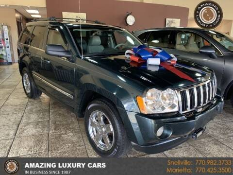 2005 Jeep Grand Cherokee for sale at Amazing Luxury Cars in Snellville GA