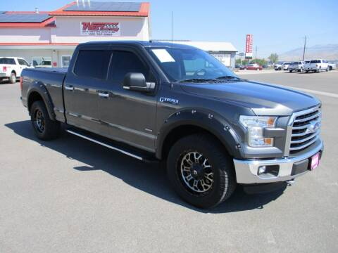 2016 Ford F-150 for sale at West Motor Company in Hyde Park UT
