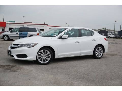2016 Acura ILX for sale at FREDY KIA USED CARS in Houston TX