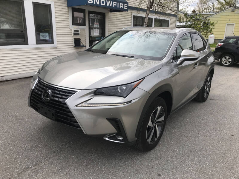 2018 Lexus NX 300 for sale at Snowfire Auto in Waterbury VT