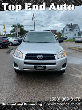 2012 Toyota RAV4 for sale at Top End Auto in North Attleboro MA
