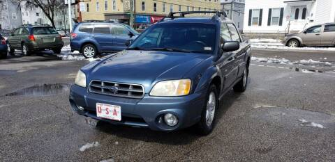 2006 Subaru Baja for sale at Union Street Auto in Manchester NH