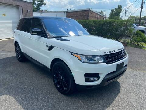 2017 Land Rover Range Rover Sport for sale at International Motor Group LLC in Hasbrouck Heights NJ