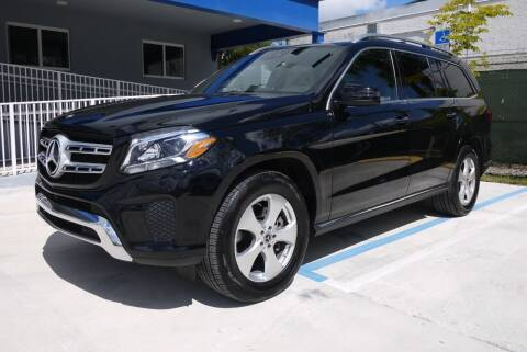 2019 Mercedes-Benz GLS for sale at PERFORMANCE AUTO WHOLESALERS in Miami FL