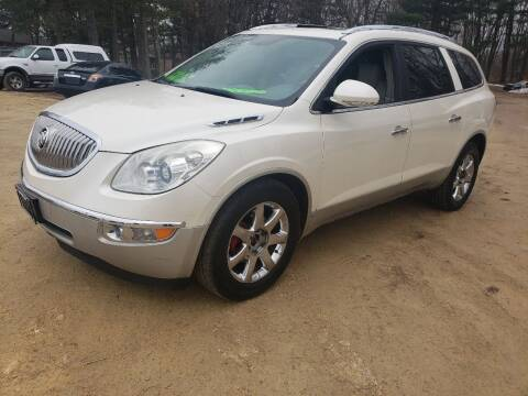 2010 Buick Enclave for sale at Northwoods Auto & Truck Sales in Machesney Park IL