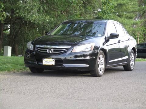 2012 Honda Accord for sale at Loudoun Used Cars in Leesburg VA