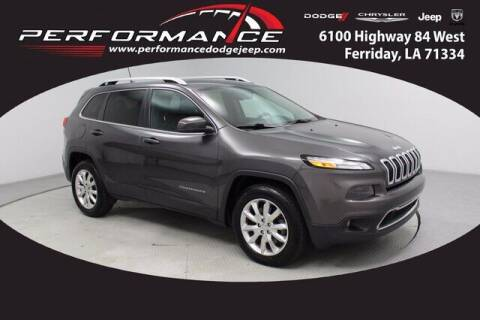 2016 Jeep Cherokee for sale at Auto Group South - Performance Dodge Chrysler Jeep in Ferriday LA