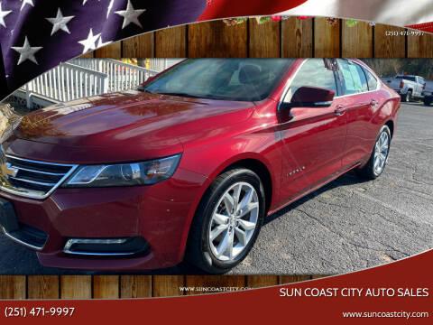2019 Chevrolet Impala for sale at Sun Coast City Auto Sales in Mobile AL