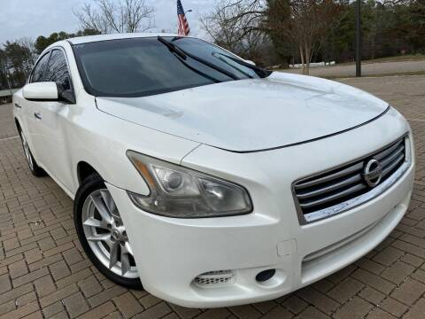 2013 Nissan Maxima for sale at JES Auto Sales LLC in Fairburn GA