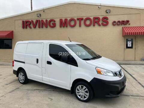 2013 Nissan NV200 for sale at Irving Motors Corp in San Antonio TX
