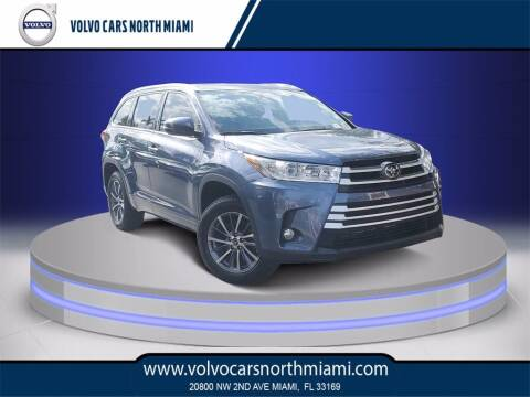 2018 Toyota Highlander for sale at Volvo Cars North Miami in Miami FL