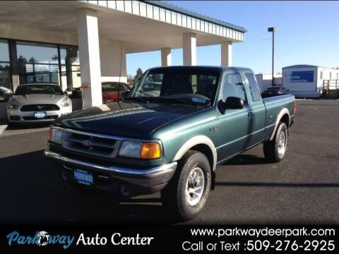1996 Ford Ranger for sale at PARKWAY AUTO CENTER AND RV in Deer Park WA