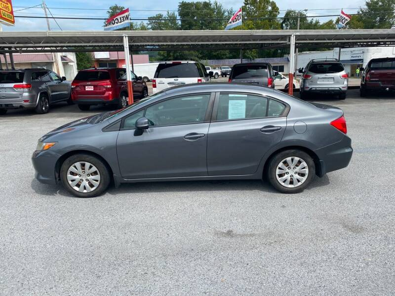 2012 Honda Civic for sale at Lewis Used Cars in Elizabethton TN