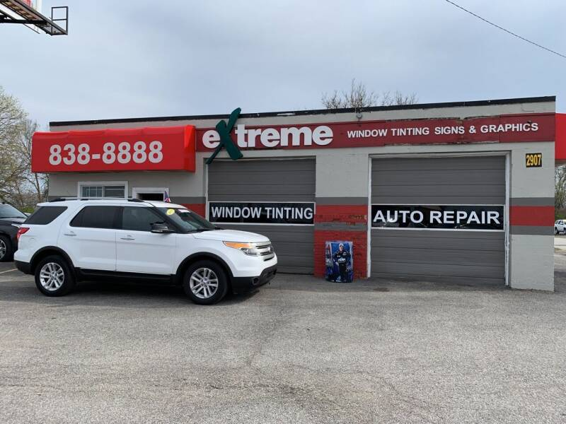 2013 Ford Explorer for sale at Extreme Auto Sales in Plainfield IN