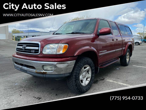 2002 Toyota Tundra for sale at City Auto Sales in Sparks NV