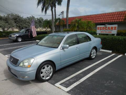 2003 Lexus LS 430 for sale at Uzdcarz Inc. in Pompano Beach FL