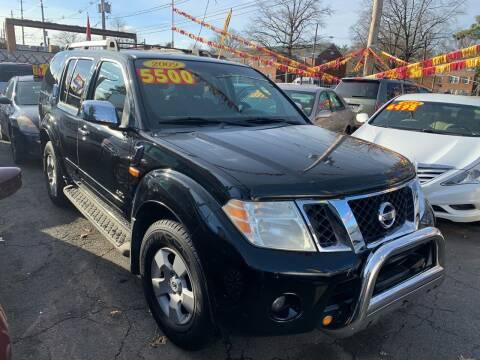 2009 Nissan Pathfinder for sale at Metro Auto Exchange 2 in Linden NJ