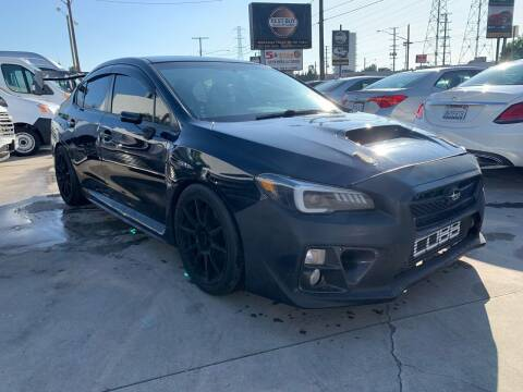 2016 Subaru WRX for sale at Best Buy Quality Cars in Bellflower CA
