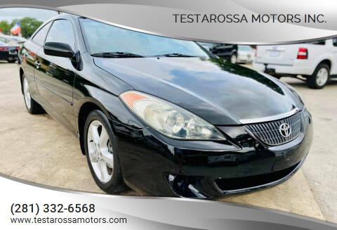 2006 Toyota Camry Solara for sale at Testarossa Motors Inc. in League City TX