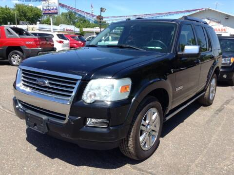 2008 Ford Explorer for sale at Steves Auto Sales in Cambridge MN