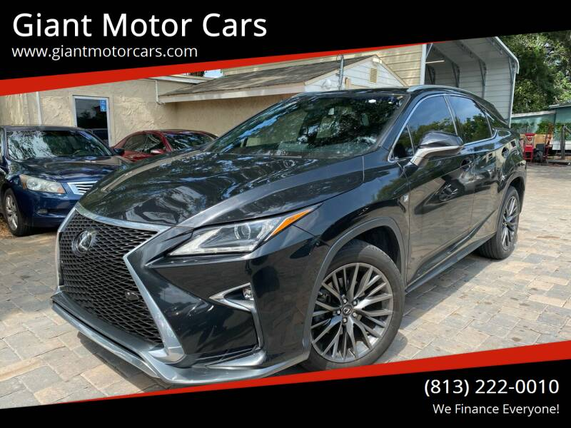 2017 Lexus RX 350 for sale at Giant Motor Cars in Tampa FL