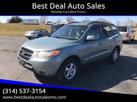 2008 Hyundai Santa Fe for sale at Best Deal Auto Sales in Saint Charles MO