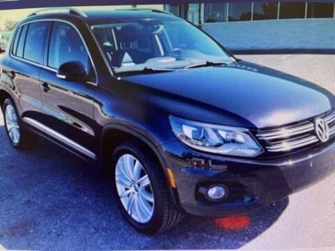 2016 Volkswagen Tiguan for sale at PHIL SMITH AUTOMOTIVE GROUP - SOUTHERN PINES GM in Southern Pines NC