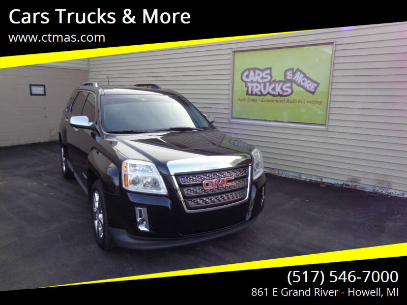 2015 GMC Terrain for sale at Cars Trucks & More in Howell MI