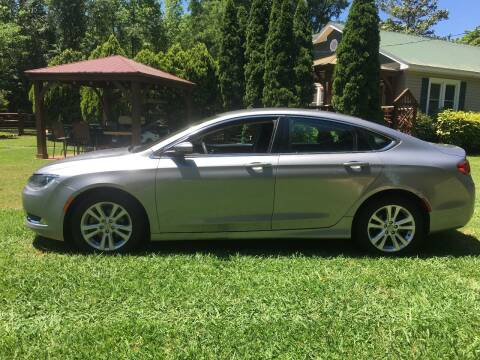 2017 Chrysler 200 for sale at March Motorcars in Lexington NC