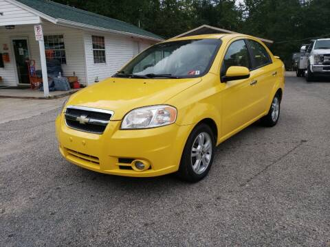 2009 Chevrolet Aveo for sale at Ona Used Auto Sales in Ona WV
