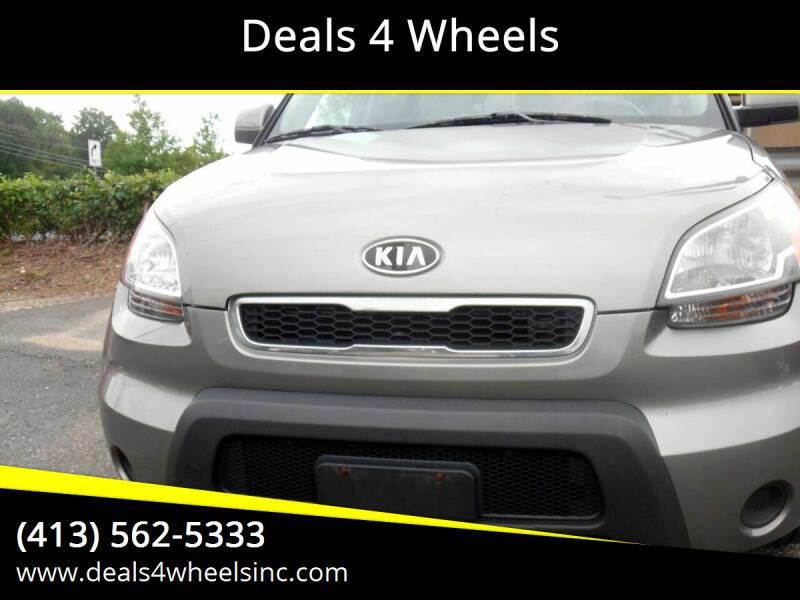 2010 Kia Soul for sale at Deals 4 Wheels in Westfield MA