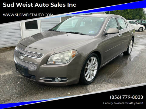 2010 Chevrolet Malibu for sale at Sud Weist Auto Sales Inc in Maple Shade NJ
