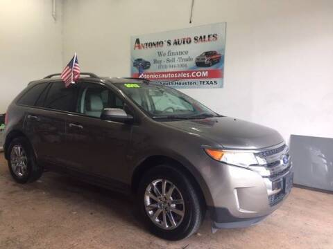2013 Ford Edge for sale at Antonio's Auto Sales in South Houston TX