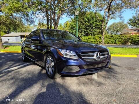 2016 Mercedes-Benz C-Class for sale at Start Auto Liquidation Center in Miramar FL