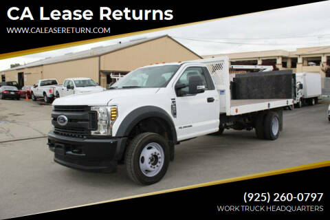 2018 Ford F-450 Super Duty for sale at CA Lease Returns in Livermore CA